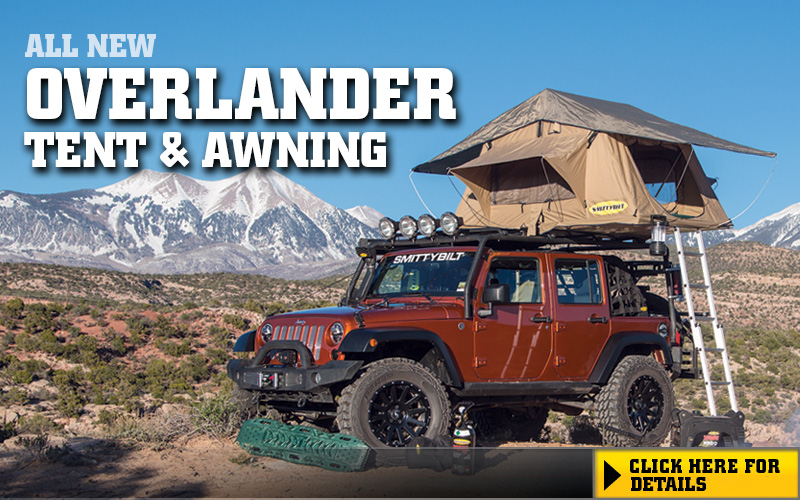 Overlander Tent and Awning